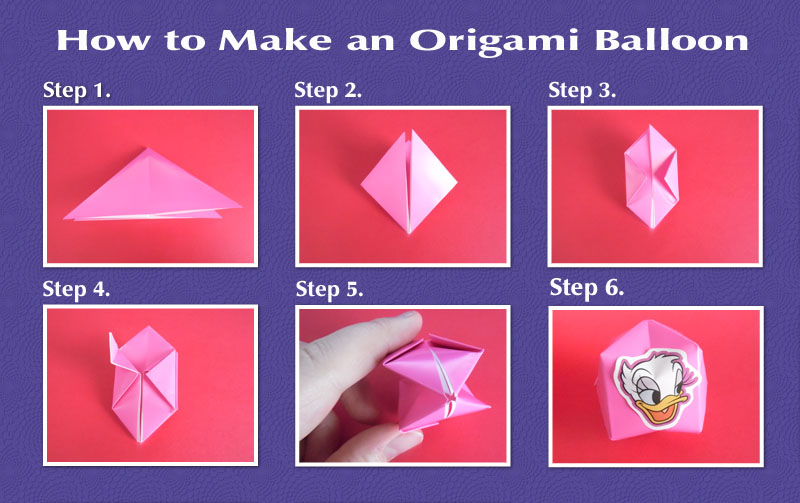 Water Base How To Make An Origami Balloon 101 Guides
