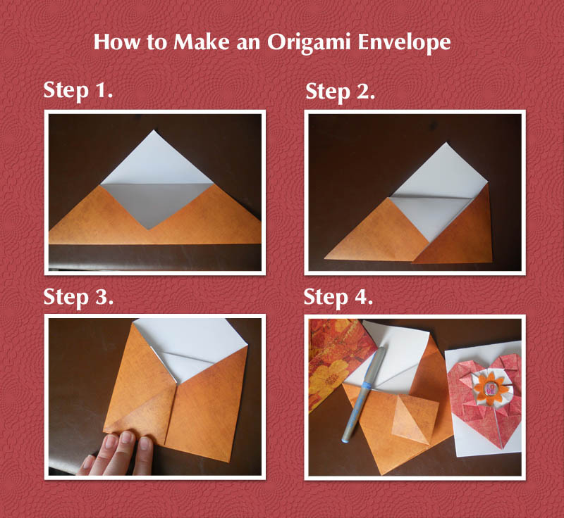How to Make an Easy Origami Envelope | 736x800