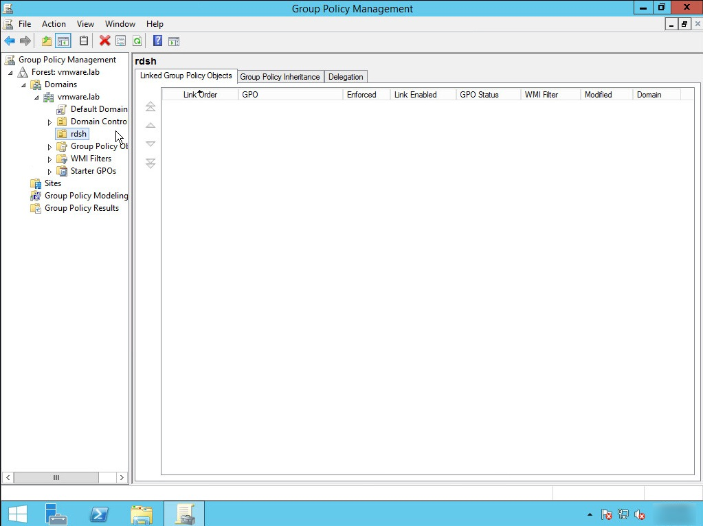 Configure Group Policy Settings For RDS Host Sessions | VMware