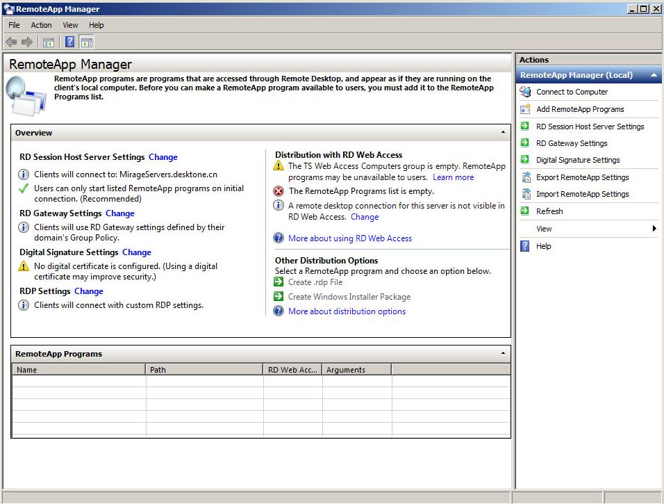 Configure RemoteApp In RDSH Server | VMware Horizon 6 SmartGuide