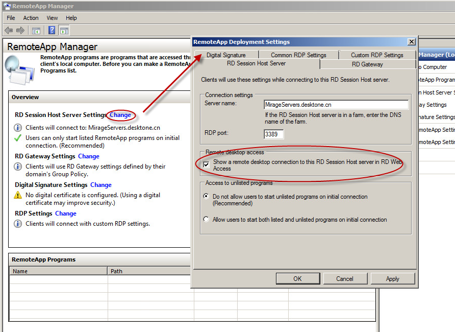 Configure RemoteApp In RDSH Server | VMware Horizon 6 SmartGuide