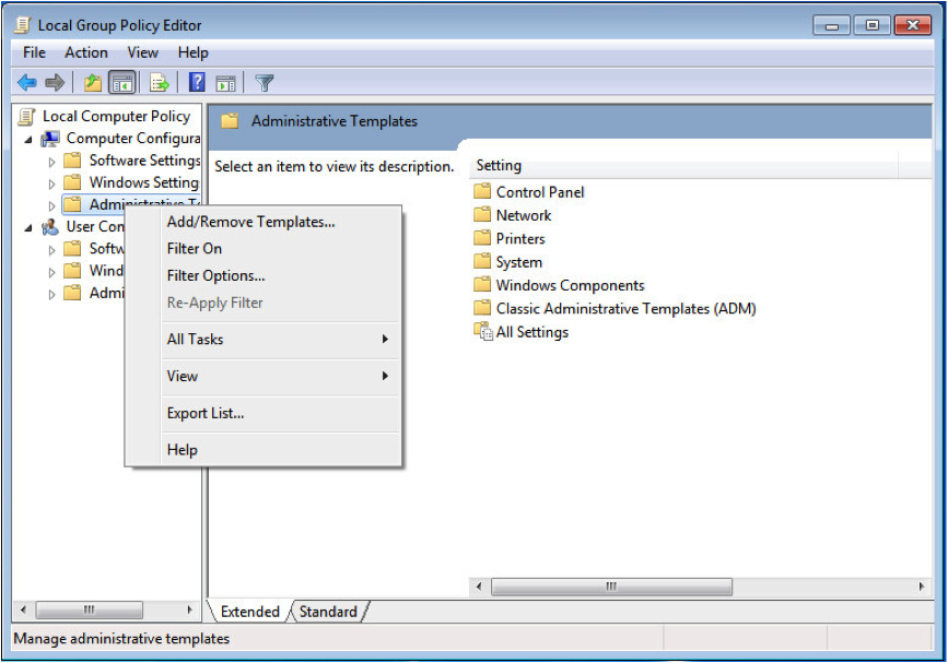 2.In The Left Directory Tree, Right-click Computer Configuration ...