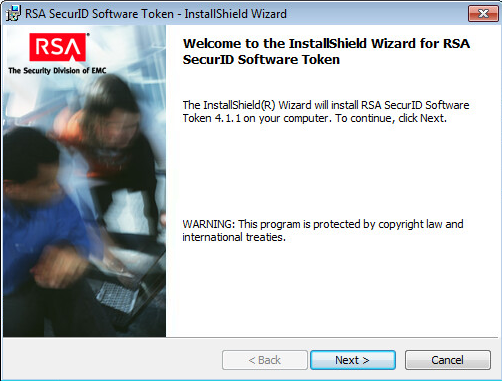 Set Up The RSA SecurID Software Token Application | VMware