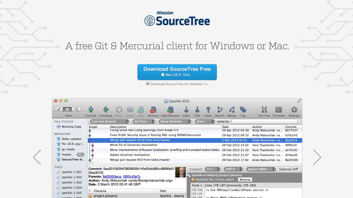 SourceTree A Free Git And Mercurial GUI (Mac) | Bitbucket