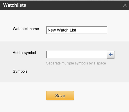 The Watchlist Getting Started With Stocktwits Guides